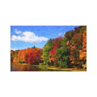 Autumn Colors canvas