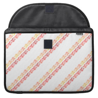 Autumn Colors Fall Leaves Pattern MacBook Pro Sleeves