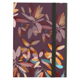 Autumn colors foliage print case for iPad air