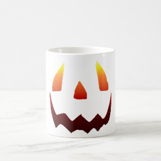 Autumn Colors Jack O' Lantern Face Coffee Mug