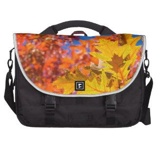 Autumn colors laptop computer bag