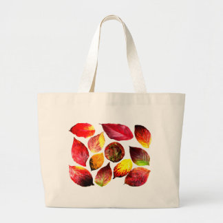Autumn Colors Leaf Display Bags