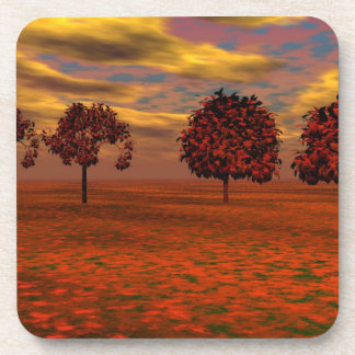 Autumn Colors Maple Trees Art Gifts Drink Coasters