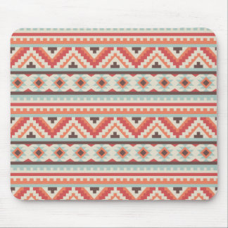Autumn Colors Navajo Pattern Mouse Pad