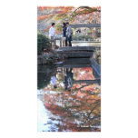 Autumn Colors of Tokyo (color of Tokyo fall) Customized Photo Card