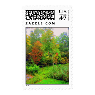 'Autumn Colors' Postage