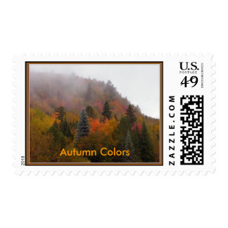 Autumn Colors Postage Stamps
