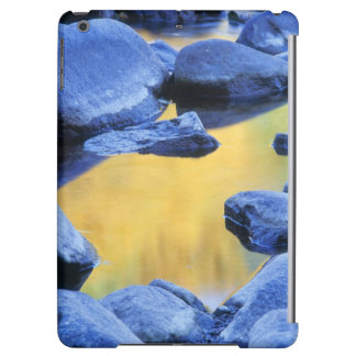 Autumn colors reflected in a wading pool, cover for iPad air