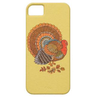 Autumn Colors Turkey Leaves iPhone SE/5/5s Case