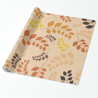 Autumn Colors Wrapping Paper