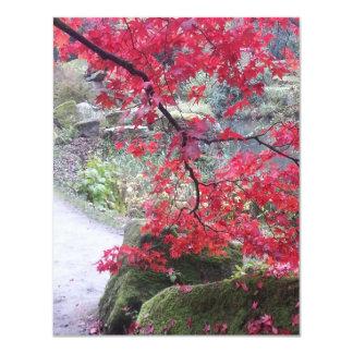 Autumn colours at Chatsworth, UK Personalised Invitation