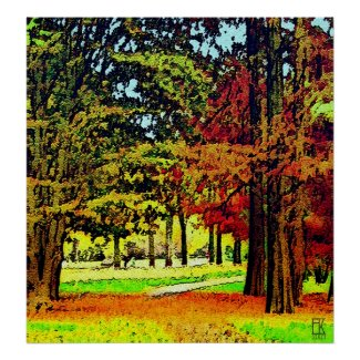 Autumn Colours print