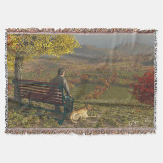 Autumn Companions Throw