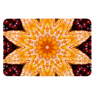 Autumn Corn Flower 4x6 Flexi Magnet