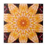 Autumn Corn Flower Ceramic Tile at Zazzle