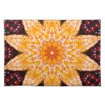 Autumn Corn Flower Cloth Placemat