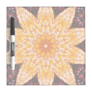 Autumn Corn Flower Dry-Erase Boards