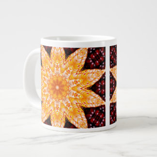 Autumn Corn Flower Giant Coffee Mug