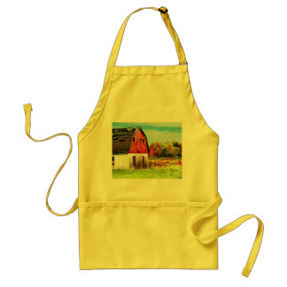 Autumn Country Adult Apron