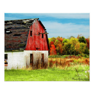 Autumn Country Poster