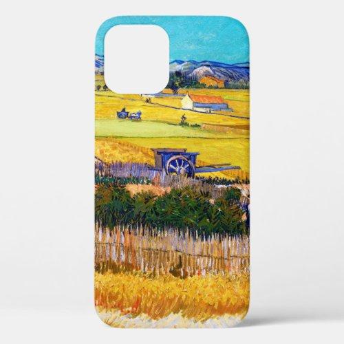 Autumn Countryside, Van Gogh Phone Case