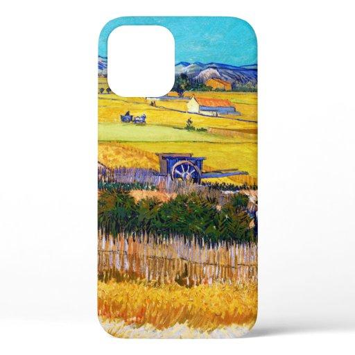 Autumn Countryside, Van Gogh iPhone 12 Case