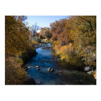 Autumn Creek Postcard