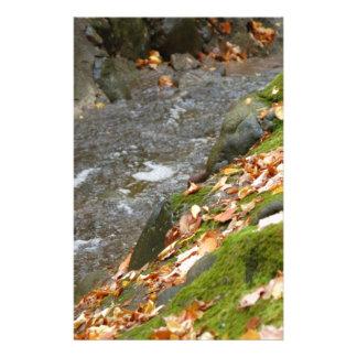autumn creek Zaz.jpg Personalized Stationery