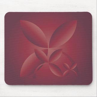 autumn crimson mouse pad