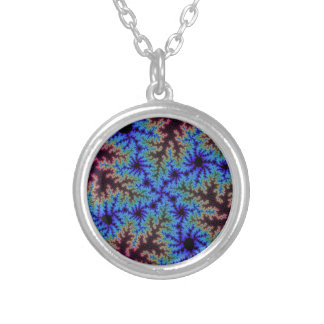 Autumn Crystals Small Round Necklace