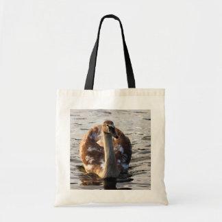 Autumn Cygnet Tote Bag