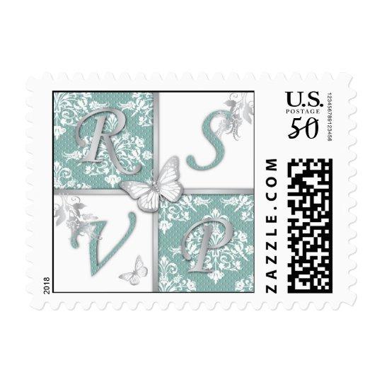Autumn Damask_lilchi RSVP Stamp