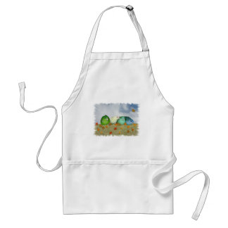 Autumn day adult apron