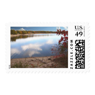 Autumn Day At The Lake 200510 Stamps