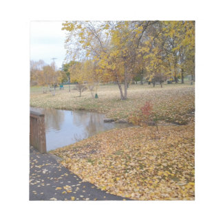 Autumn Day Notepad