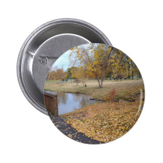 Autumn Day Pinback Button
