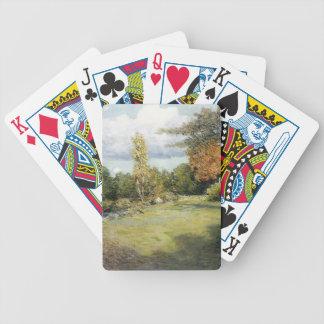 Autumn Days by Julian Alden Weir Playing Cards