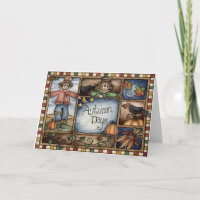 Autumn Days - Greeting Card