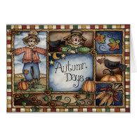 Autumn Days - Greeting Card