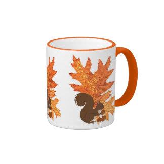 Autumn decor kitchen/dining room ringer coffee mug