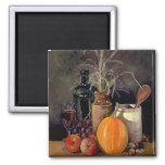 Autumn Decorations on Table Magnet
