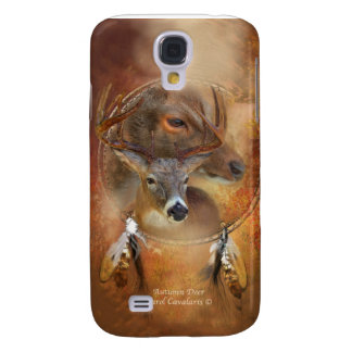 Autumn Deer Art Case for iPhone 3 Samsung Galaxy S4 Case