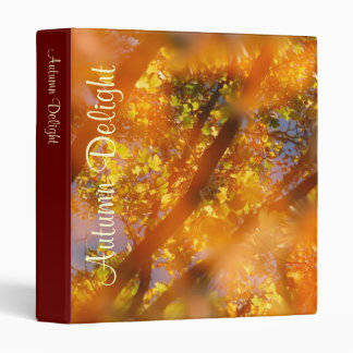 Autumn Delight 3 Ring Binder