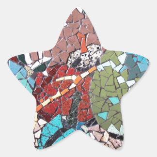 """Autumn Delight"", mosaic artwork by C.-M. Buzamet Sticker"