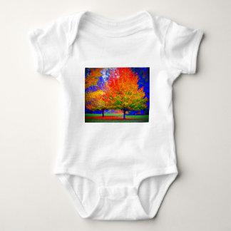 Autumn Delight - saturated Baby Bodysuit