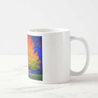 Autumn Delight - saturated Classic White Coffee Mug