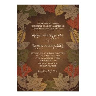 Autumn Delight Wedding Invitations