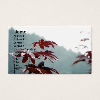 Autumn Dialog/ Profile card