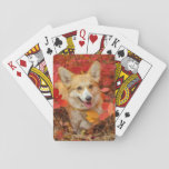 Autumn Dog Playing Cards