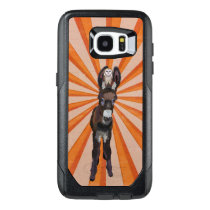AUTUMN DONKEY & PLAID OWL OtterBox SAMSUNG GALAXY S7 EDGE CASE
